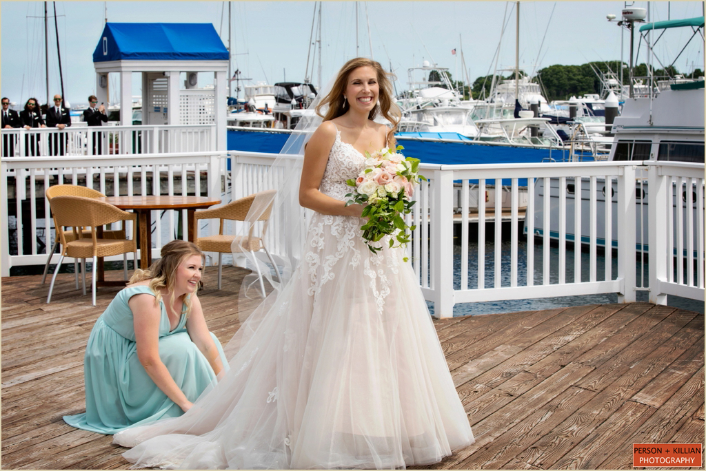 Nautical Wedding New Hampshire Wentworth by the Sea
