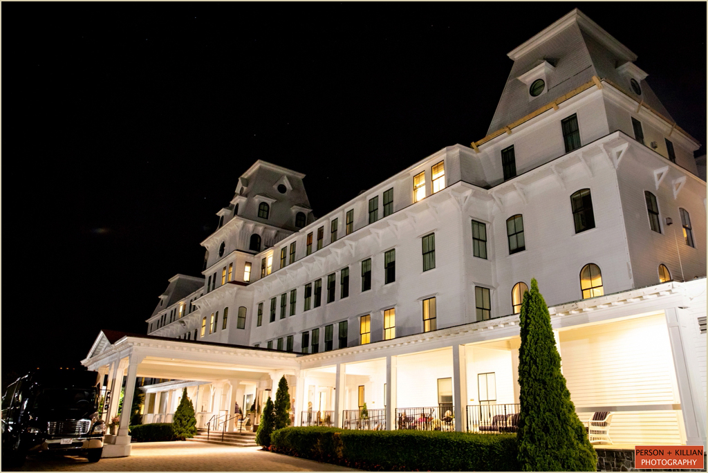 New Hampshire Wedding Venue Wentworth by the Sea