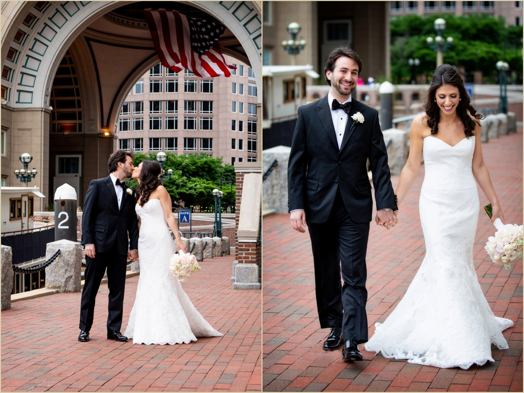 Boston Harbor Hotel Memorial Day Wedding