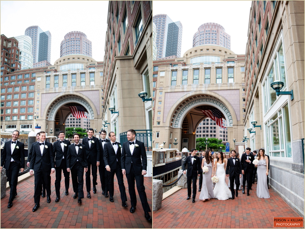 Boston Harbor Wedding Photography