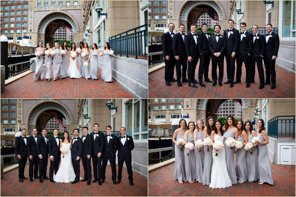 Spring Wedding Boston Harbor Hotel