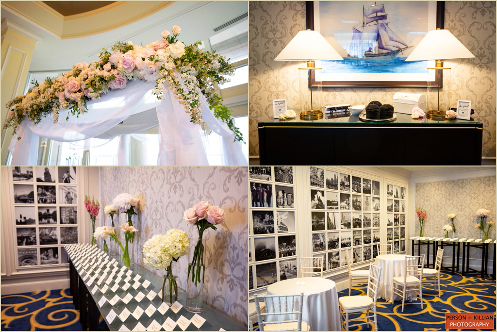 Boston Harbor Hotel Spring Wedding Chuppah