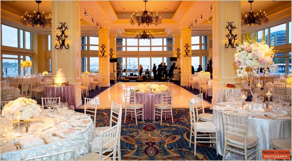 Boston Harbor Hotel Wedding Wharf Room