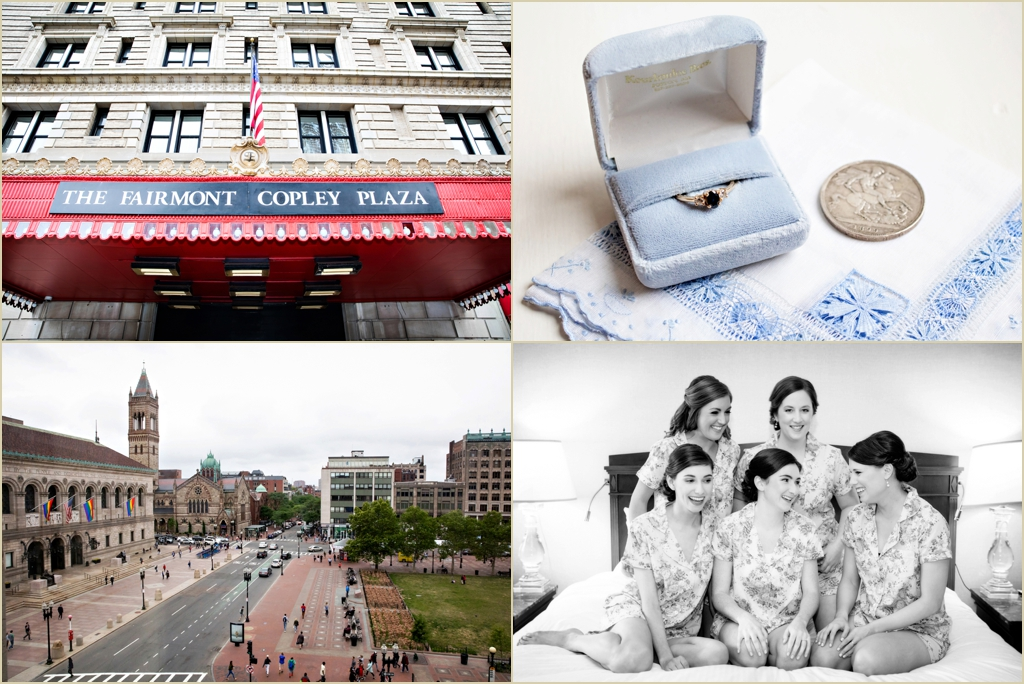 Fairmont Copley Plaza Boston Wedding