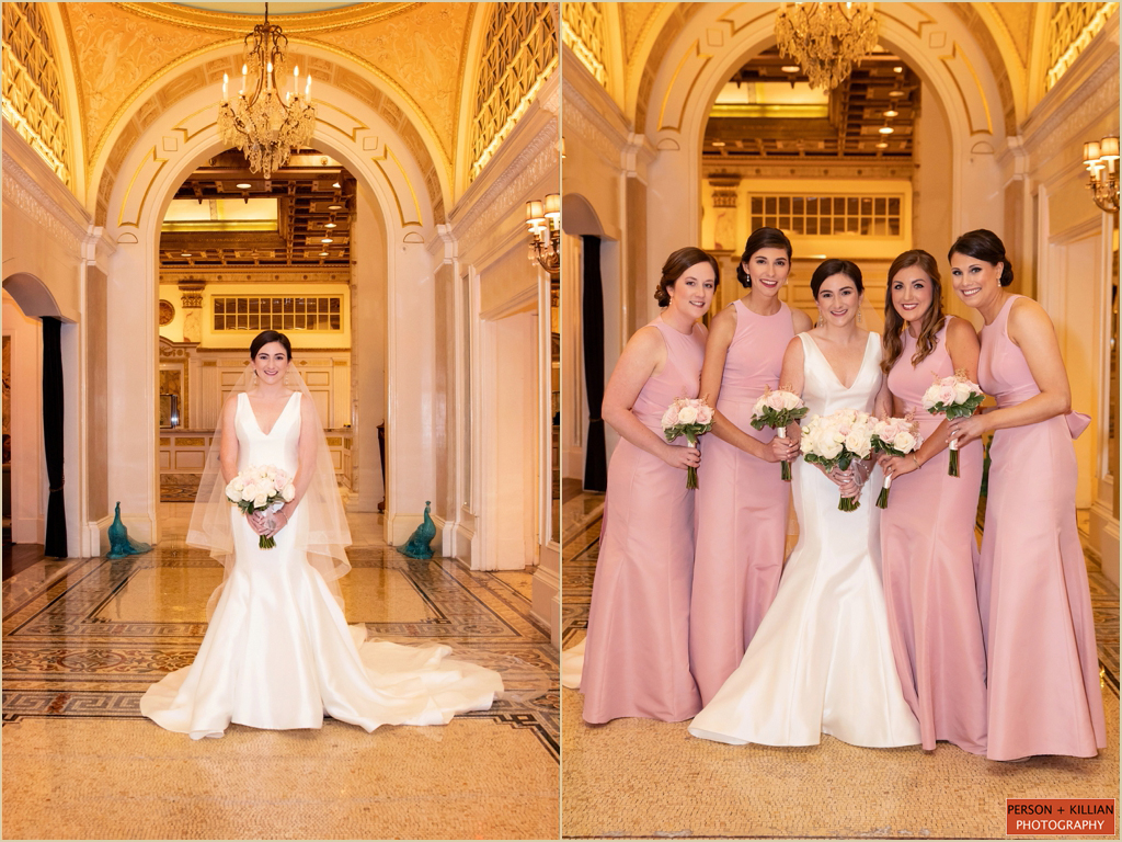 Elegant Wedding Fairmont Copley Plaza Boston