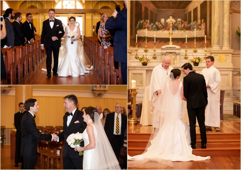 Saint Cecilia Parish Boston Wedding