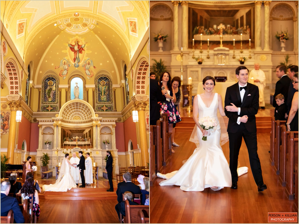 Copley Square Wedding Saint Cecilia Parish