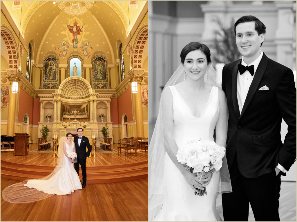Saint Cecilia Boston Wedding