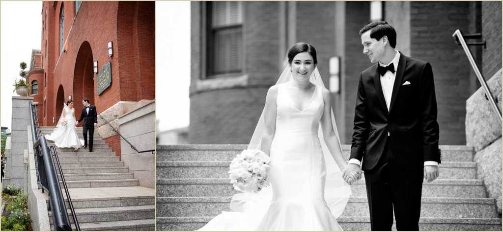 Back Bay Wedding Saint Cecilia Parish