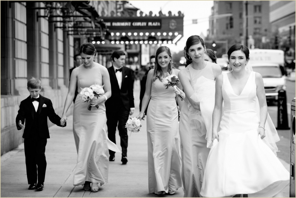 Copley Square Boston Wedding Photography