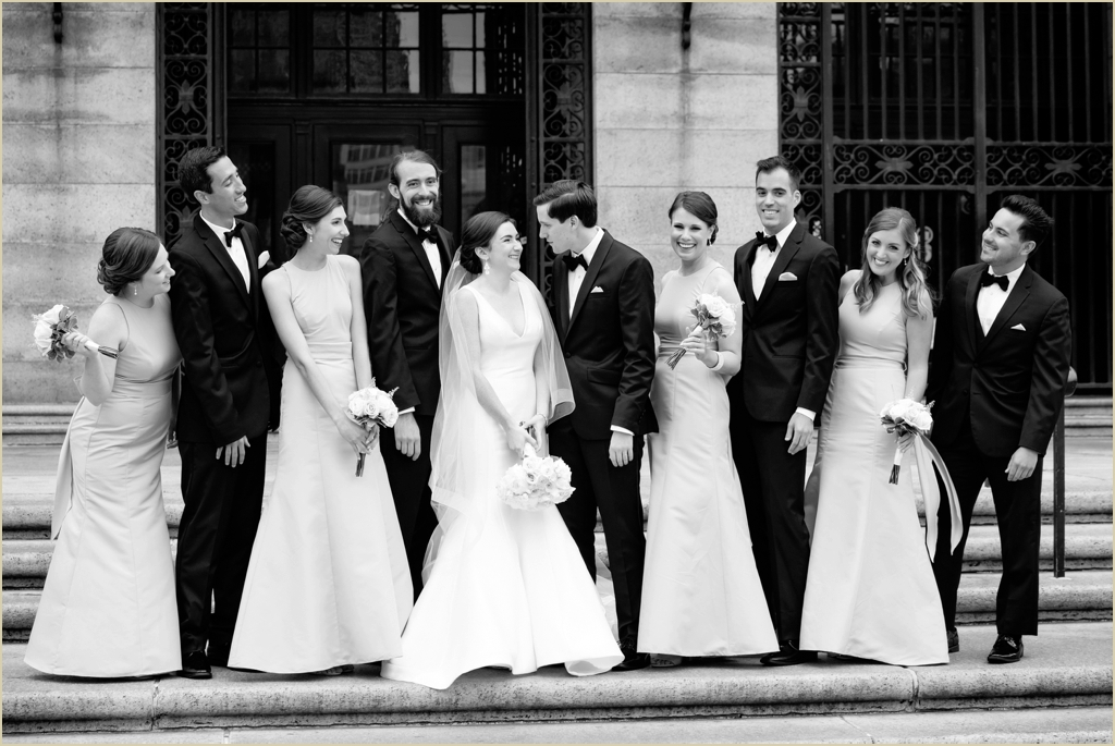 Boston Copley Square Wedding