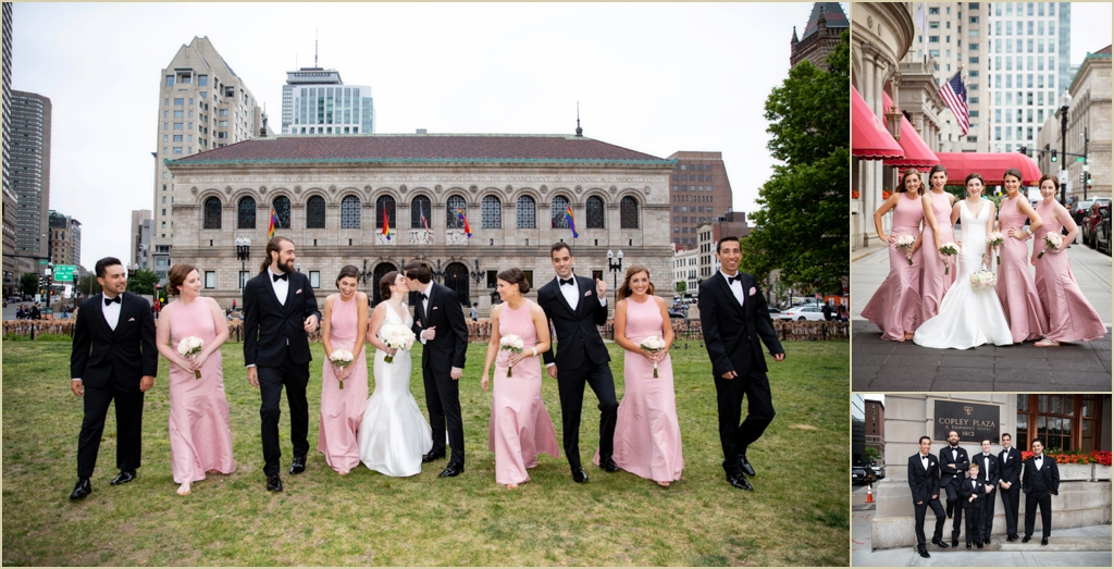 Boston Copley Square Wedding Formals
