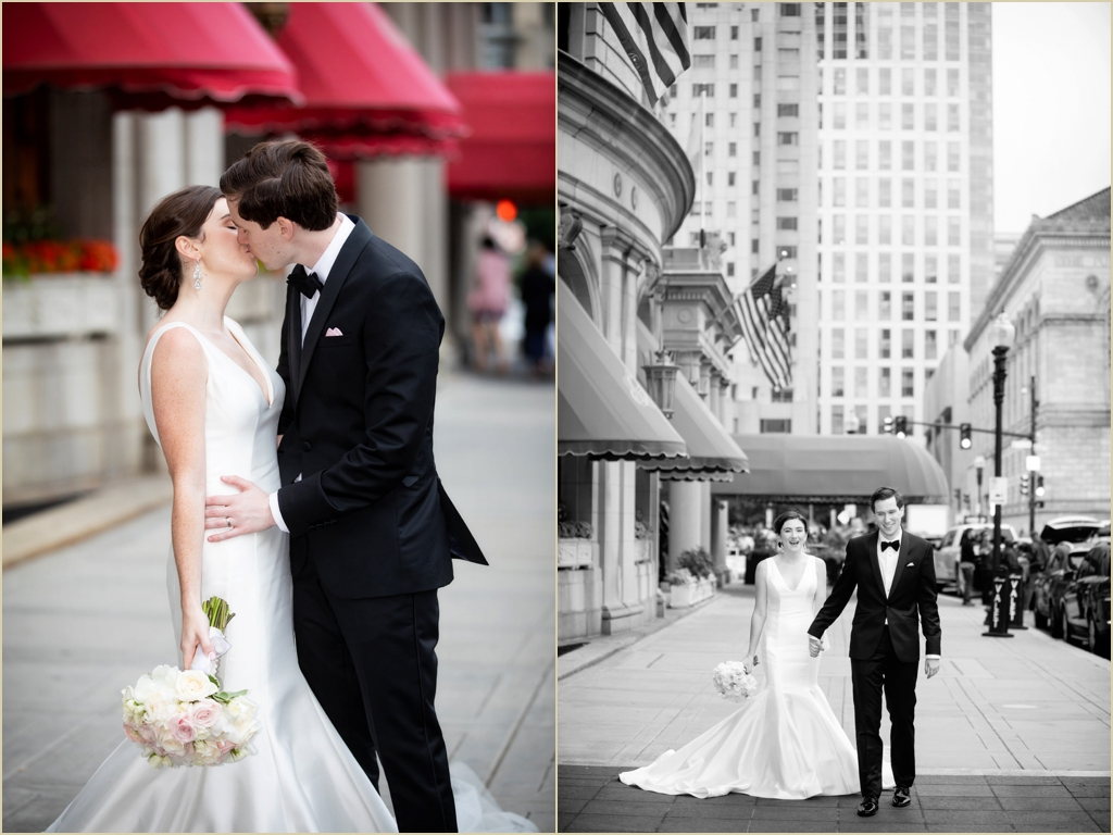 Fairmont Copley Plaza Boston Wedding Formals