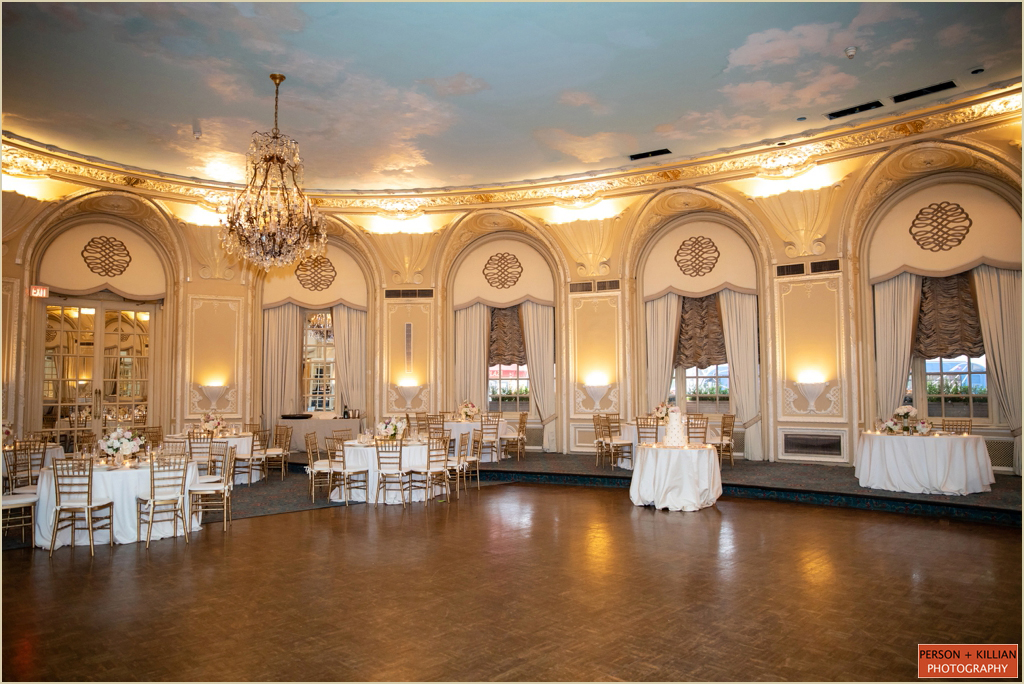 Oval Room Wedding Fairmont Copley Plaza Boston