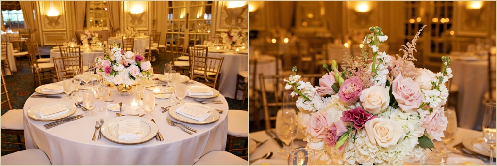 Fairmont Copley Plaza Boston Oval Room Wedding