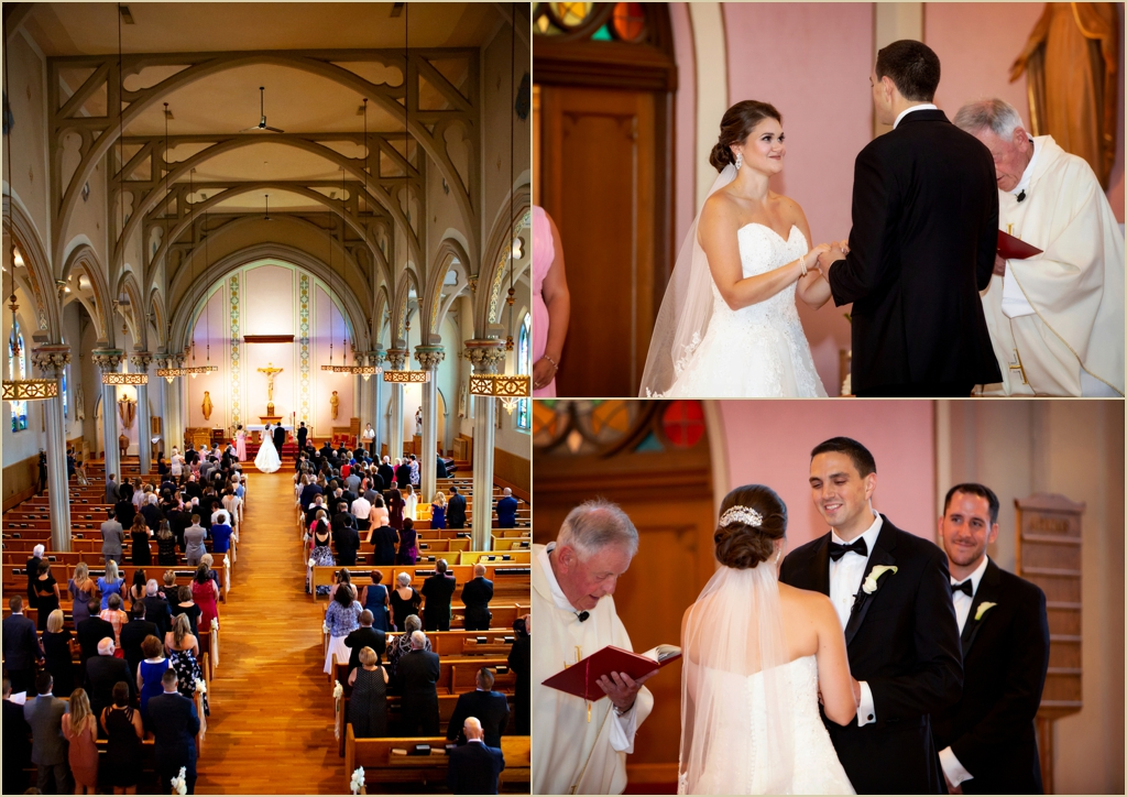 St Charles Church Wedding Woburn MA