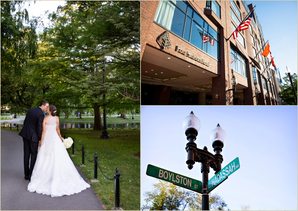 Four Seasons Boston Wedding Photography