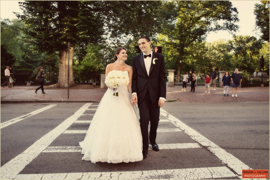 Four Seasons Boston Public Garden Wedding