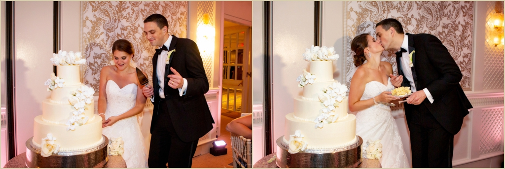 Four Seasons Boston Wedding Cake