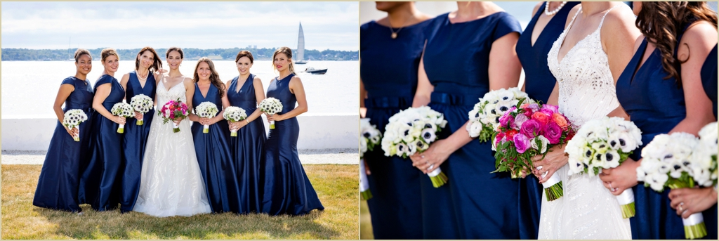 Newport RI Seaside Wedding Belle Mer