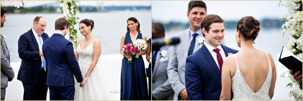 Belle Mer Newport RI Wedding