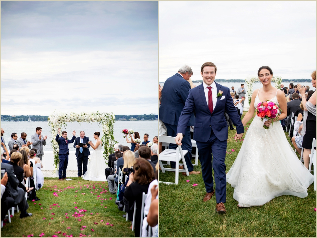 Belle Mer Longwood Wedding Newport