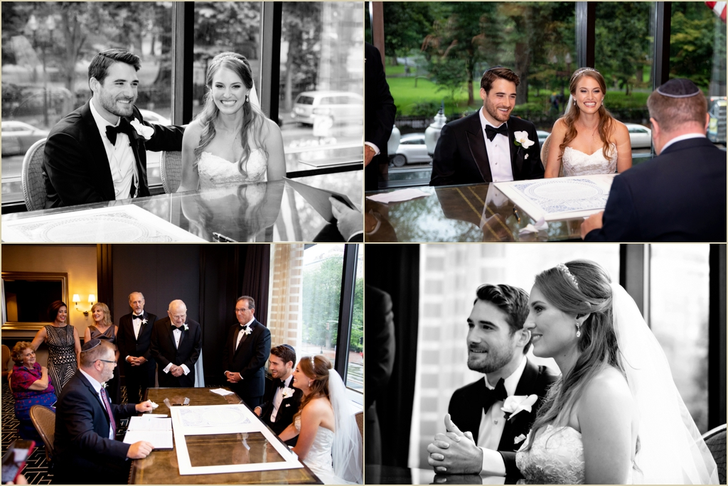 Four Seasons Boston Jewish Wedding Ceremony