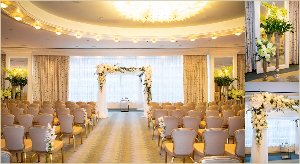 Four Seasons Boston Governors Room Wedding Ceremony