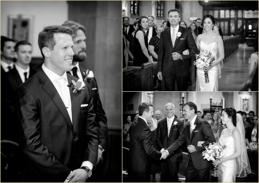 Boston College St Ignatius Church Wedding
