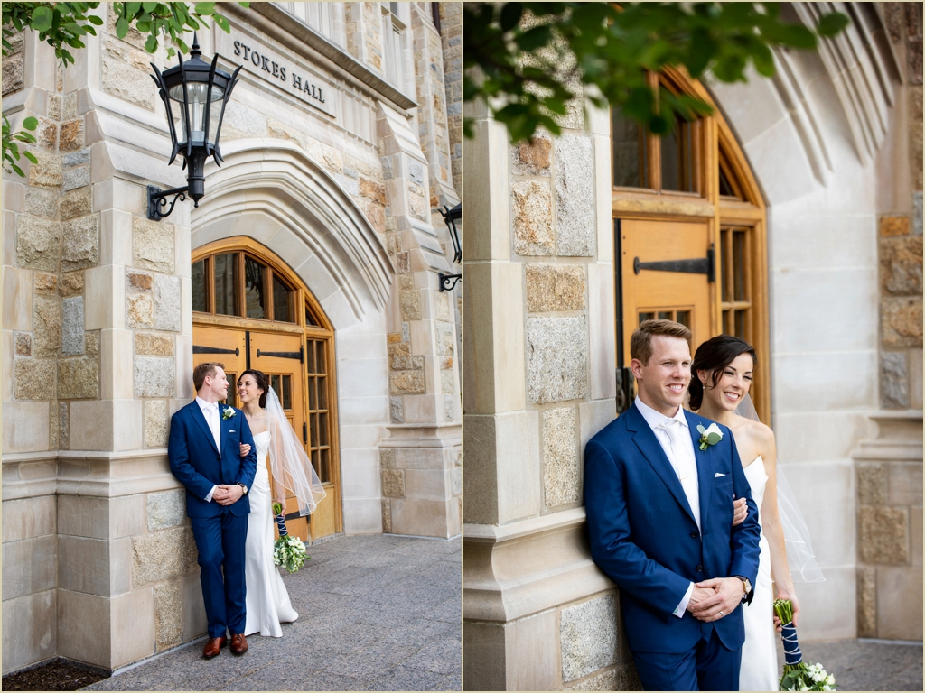 Boston College Wedding Photography