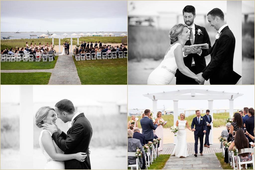 Chatham Bars Inn Beach Wedding Ceremony