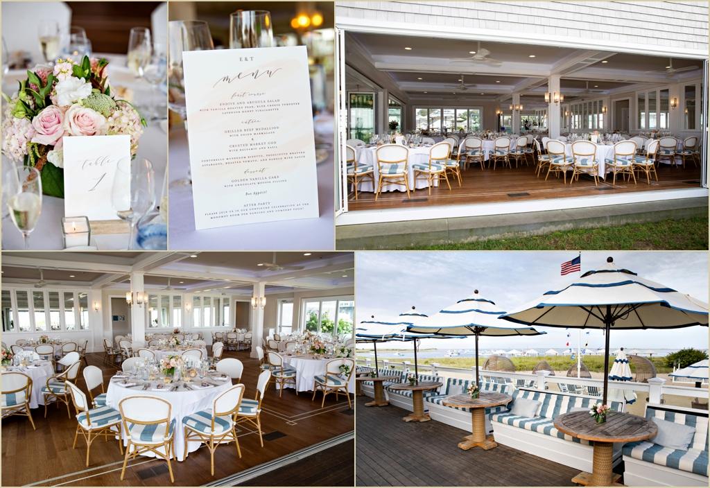 Chatham Bars Inn Beach House Grill Wedding