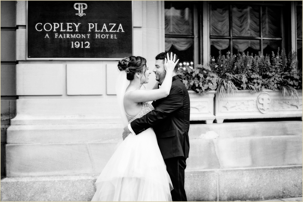 Wedding Photography Fairmont Copley Plaza Boston