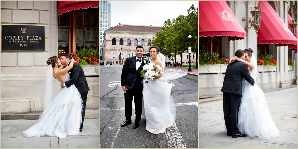 Copley Square Wedding Fairmont Copley Plaza