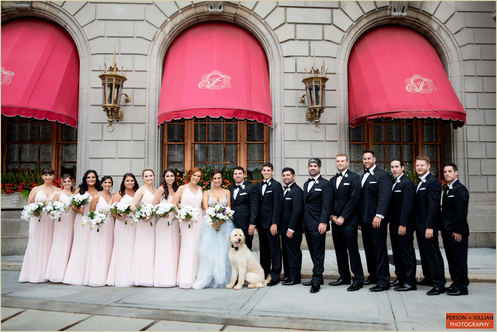 Fairmont Copley Plaza Boston Wedding Photography