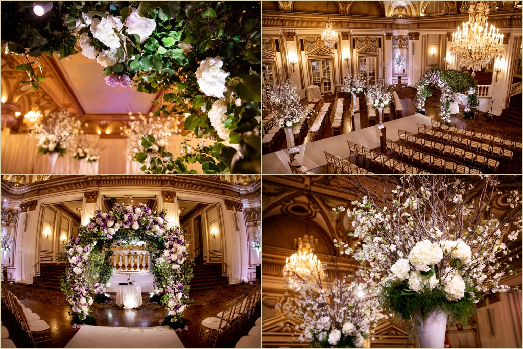 Marc Hall Design Wedding Fairmont Copley Plaza
