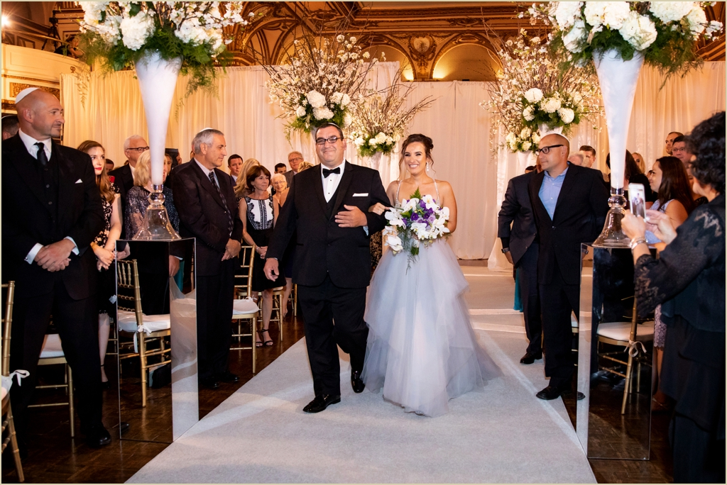 Fairmont Copley Plaza Grand Ballroom Wedding Ceremony