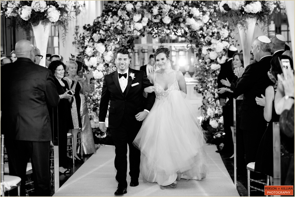Boston Wedding Ceremony Fairmont Copley Plaza