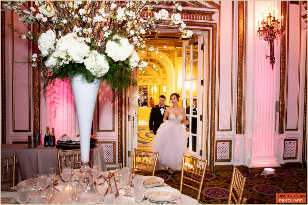 Fairmont Copley Plaza Boston Summer Wedding