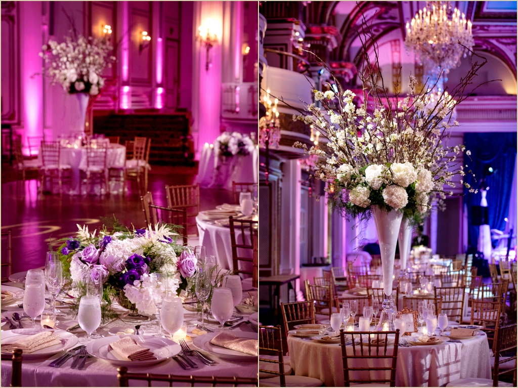 Ballroom Wedding Fairmont Copley Plaza Boston