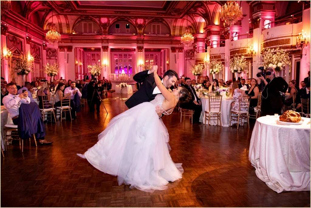 Fairmont Copley Plaza Boston Grand Ballroom Wedding