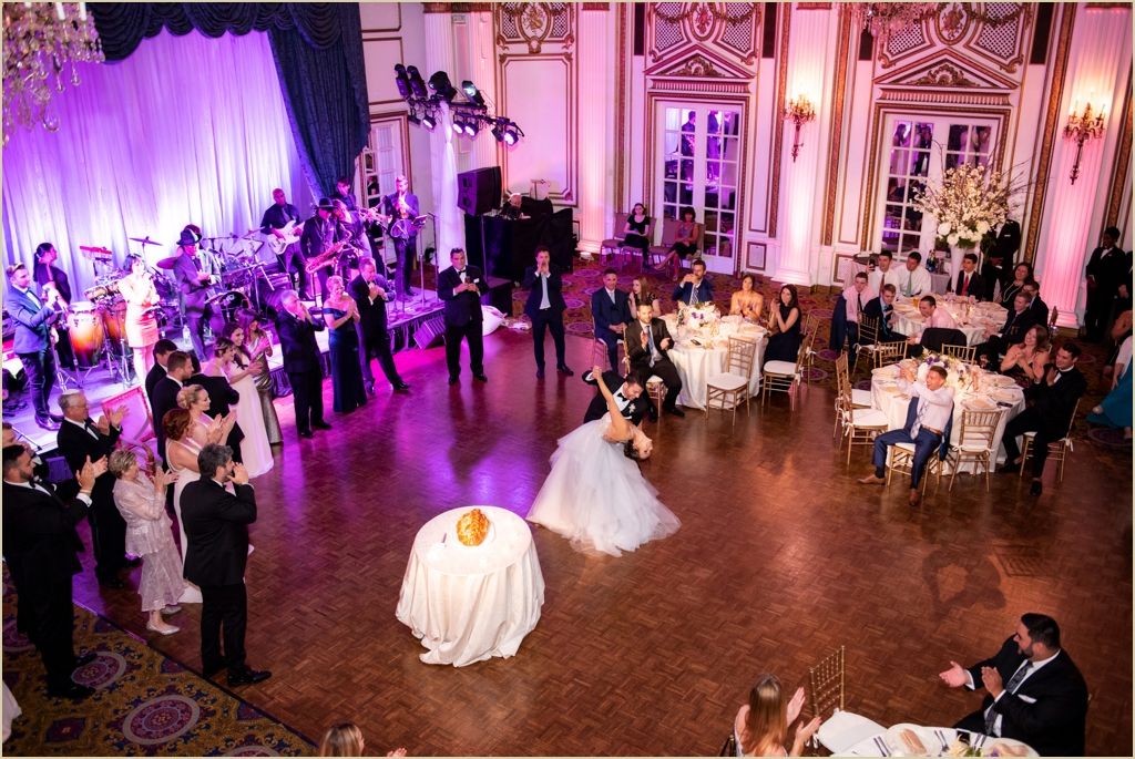Grand Ballroom Wedding Fairmont Copley Plaza Boston