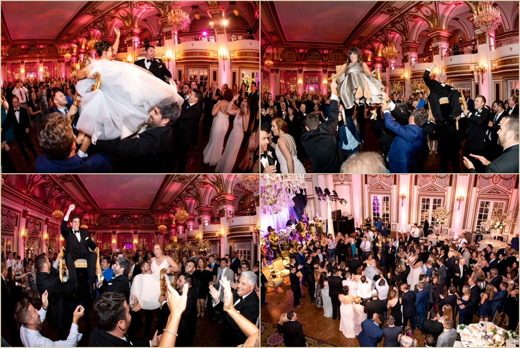 Modern Wedding Fairmont Copley Plaza Boston