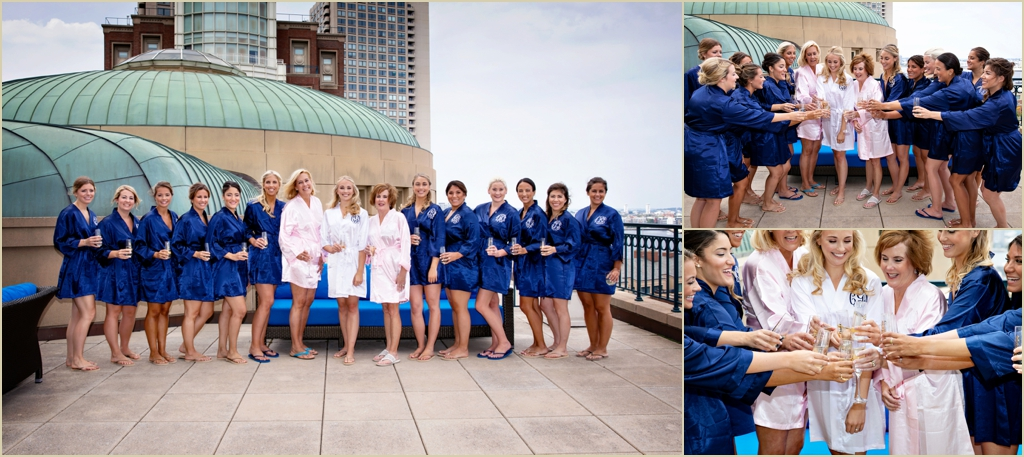 Summer Wedding Boston Harbor Hotel