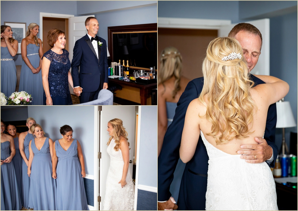 Boston Harbor Hotel Admiral Suite Wedding