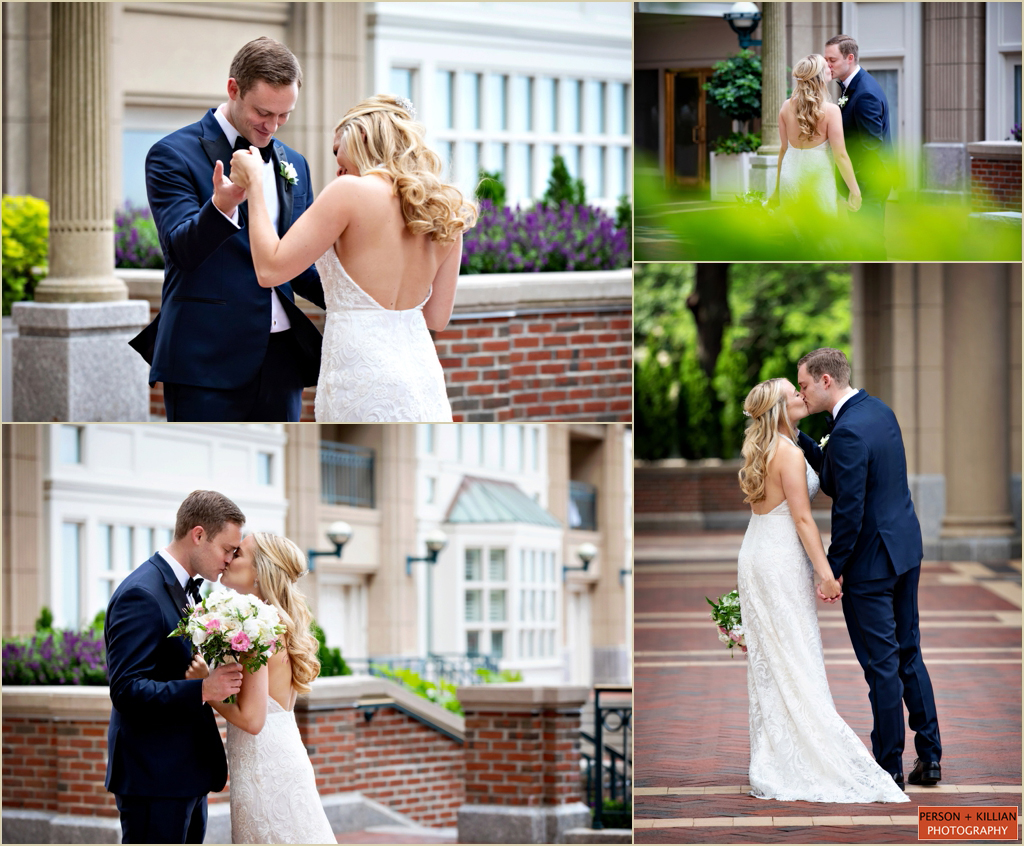 Boston Harbor Hotel Summer Wedding Photography