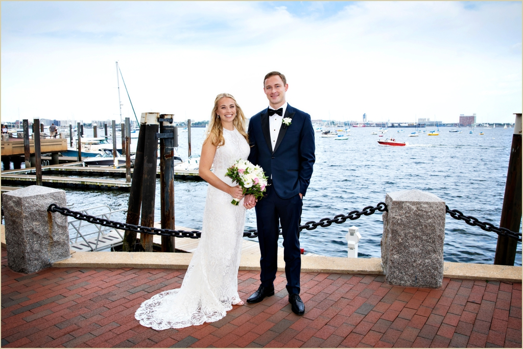 Boston Harbor Hotel Seaside Wedding