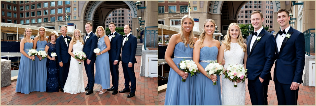 Seaside Summer Wedding Boston Harbor Hotel
