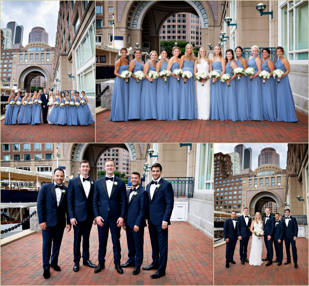 Boston Harbor Hotel Wedding Photographer