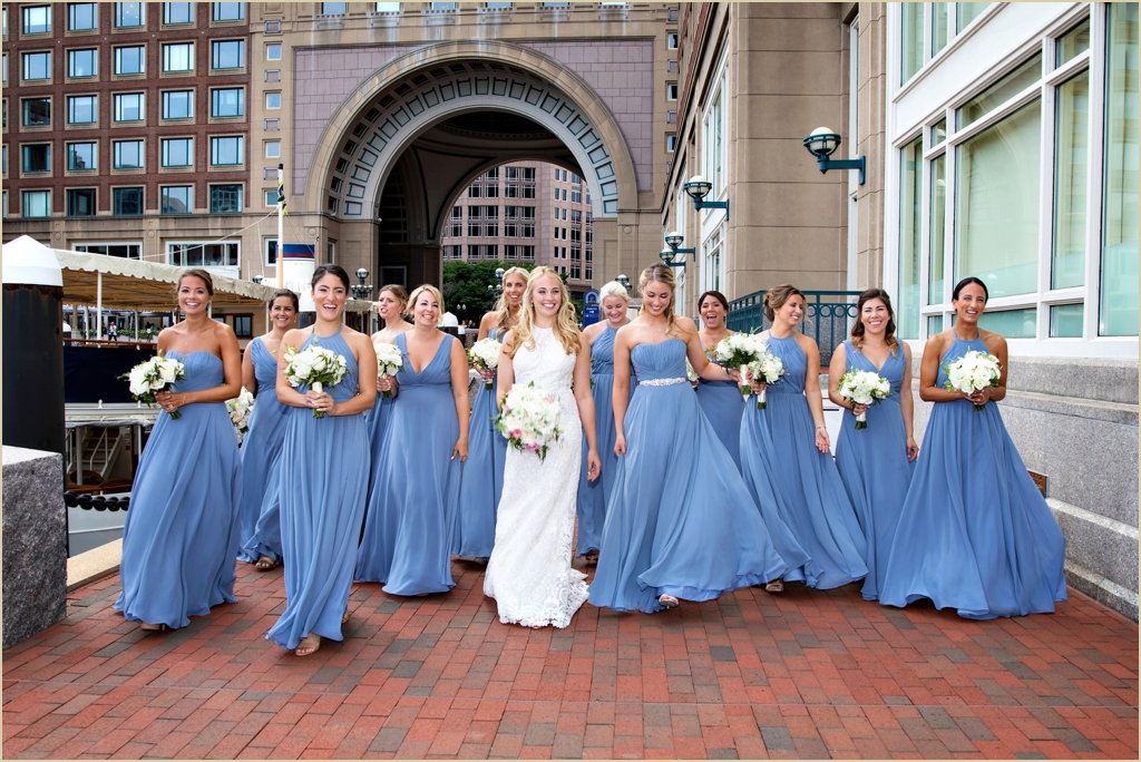 Boston Harbor Hotel Summer Wedding Venue